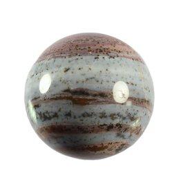 Jaspis (oceaan) edelsteen bol 70 mm