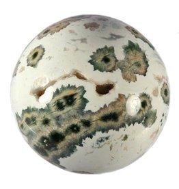 Jaspis (oceaan) edelsteen bol 67 mm