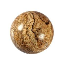 Jaspis (landschap) edelsteen bol 40 mm