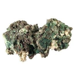 Heulandiet (groen) ruw 9,5 x 7 x 4 cm / 148 gram