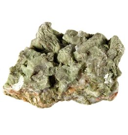 Heulandiet (groen) ruw 7,5 x 5,5 x 4,5 cm / 128 gram