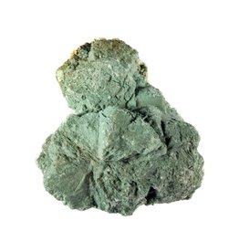 Heulandiet (groen) ruw 6,5 x 5 x 4,5 cm / 107 gram