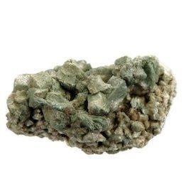 Heulandiet (groen) ruw 10 x 8 x 5 cm / 294 gram