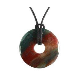 Heliotroop hanger donut 3 cm