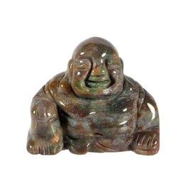 Heliotroop boeddha 4 cm