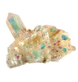 Angel aura (golden healer) cluster 6 x 5 x 2,5 cm / 46,7 gram