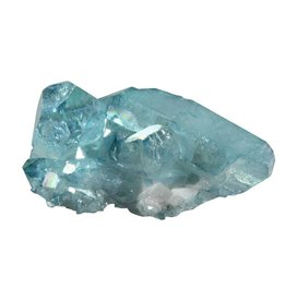 Aqua aura kwarts cluster 4,2 x 3,7 x 2,9 cm / 34 gram
