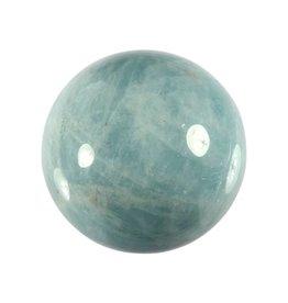 Aquamarijn (blauw) edelsteen bol A-kwaliteit 39,8 mm