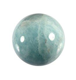 Aquamarijn (blauw) edelsteen bol A-kwaliteit 44,9 mm