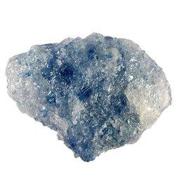 Haliet (blauw) ruw 13 x 9 x 5 cm / 557 gram