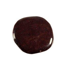 Granaat steen plat gepolijst