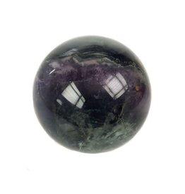 Fluoriet (multi) edelsteen bol 54 mm