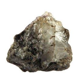 Fenakiet met flogopiet en paarse fluoriet 5 x 4,5 x 4,5 cm / 114 gram