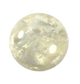 Dubbelspaat (geel) edelsteen bol 64 mm