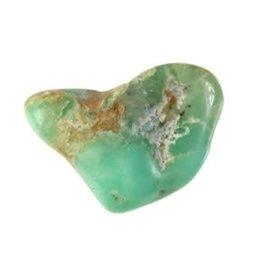 Chrysopraas steen B-kwaliteit getrommeld 5 - 10 gram