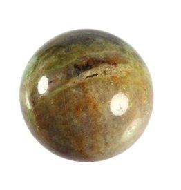 Chrysopraas edelsteen bol 56 mm