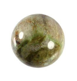 Chrysopraas edelsteen bol 55 mm