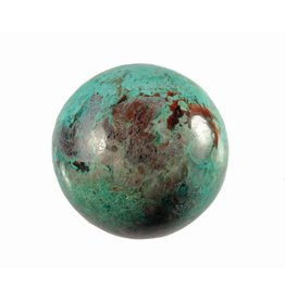 Chrysocolla edelsteen bol 58 mm
