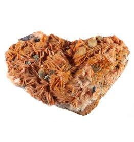 Cerussiet met bariet cluster 12,5 x 7 x 5 cm / 945 gram