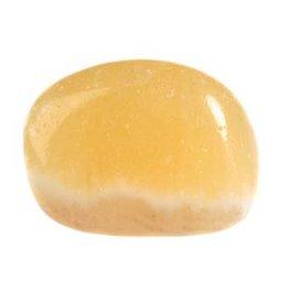 Calciet (oranje) steen getrommeld 2 - 5 gram