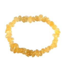 Calciet (oranje) armband split