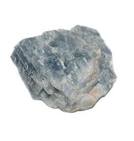 Calciet (blauw) ruw 25 - 50 gram