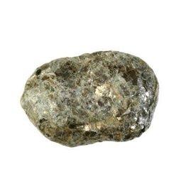 Biotiet lens (barende steen) ruw middel