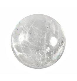 Bergkristal edelsteen bol 79 mm