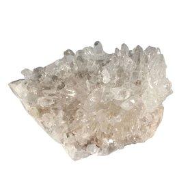 Bergkristal cluster 12 x 9 x 6,5 cm / 553 gram
