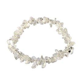 Bergkristal armband split