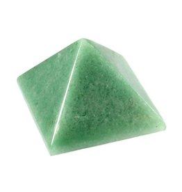 Aventurijn edelsteen piramide