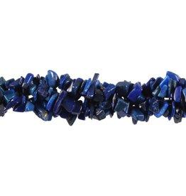 Lapis lazuli splitsnoer 90 cm