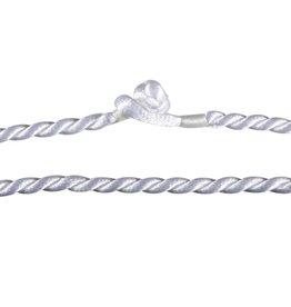 Gedraaid koord 40 cm wit