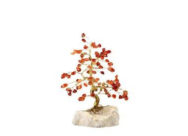 Edelsteen boompjes en bloemen
