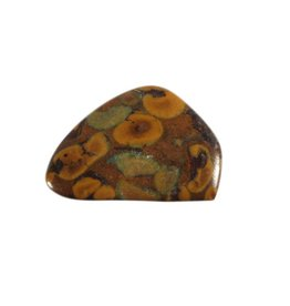 Jaspis (poppy) steen getrommeld 2 - 5 gram