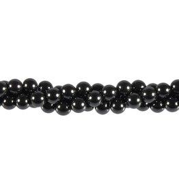 Hemalyke (synthetisch) kralen rond 6 mm (snoer van 40 cm)