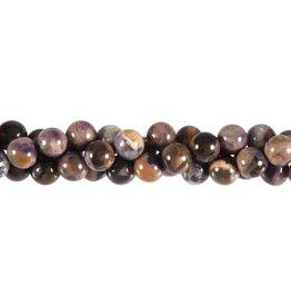 Tiffany stone kralen rond 8 mm (snoer van 40 cm)