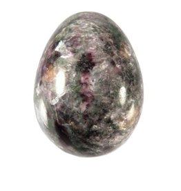 Charoiet edelsteen ei B-kwaliteit 5 x 3,5 cm