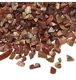 Jaspis (rood) ondoorboorde split | 100 gram
