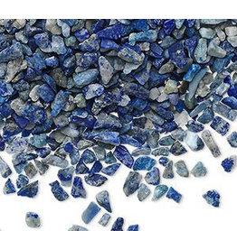 Lapis lazuli ondoorboorde split | 100 gram