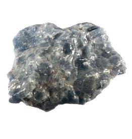 Calciet (blauw) ruw 175 - 250 gram
