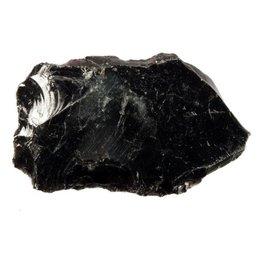 Obsidiaan (zwart) ruw 175 - 250 gram
