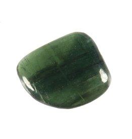 Kyaniet (groen) steen getrommeld 2 - 5 gram