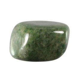 Vesuvianiet of idocraas steen getrommeld 25 - 35 gram