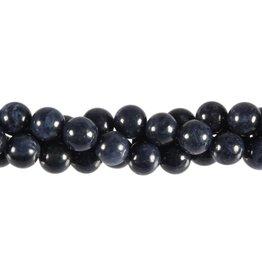 Saffier kralen rond 8 mm (snoer van 40 cm)