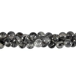 Toermalijnkwarts kralen A-kwaliteit rond 8 mm (snoer van 40 cm)
