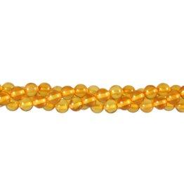 Copal kralen rond 6 mm (streng van 40 cm)