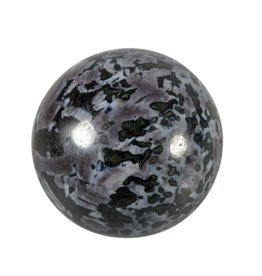 Merliniet edelsteen bol 70 mm / 547 gram