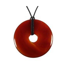 Carneool hanger donut 5 cm