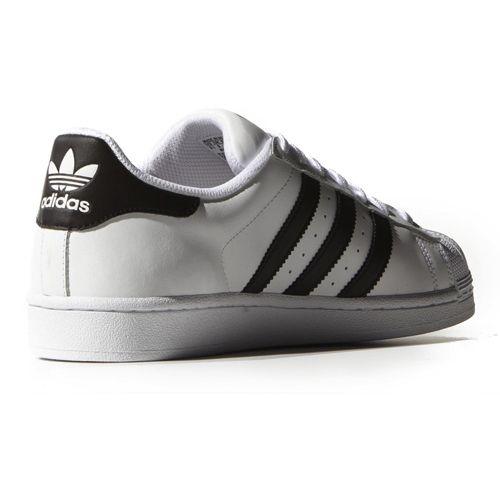 adidas superstar wit met zwarte strepen